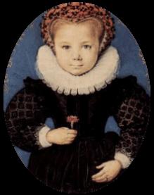Spooky medieval child - Totnes Museum